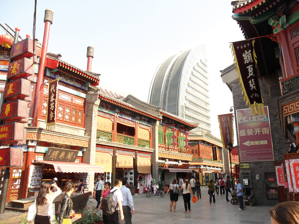 "Die ""Culture Street"" in Tianjin"