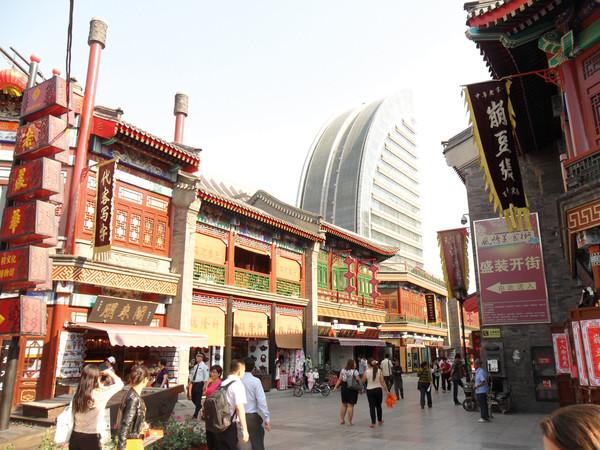 "Die ""Culture Street"" in Tianjin"
