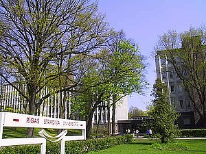 Campus der Riga Stradins University