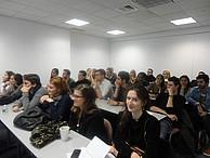 Studenten des MIM während einer Vorlesung