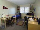 Zimmer im Studentenwohnheim an der CSU Northridge