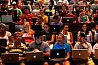 Studenten der CSUN während einer Vorlesung