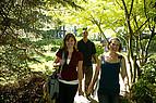 Studenten der VIU auf dem Weg zur Vorlesung