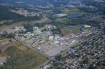 Blick auf den Campus der Vancouver Island University