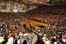 Basketballspiel an der Oregon State University