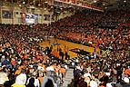 Ein Basketballspiel an der OSU