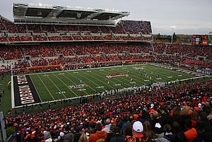 Footballstadion der Oregon State University
