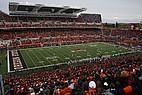 Das Footballstadion der OSU während eines Spiels
