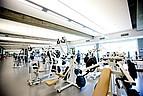 Das für alle Studierende zugängliche Fitness Studio