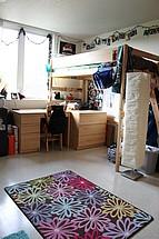 Blick in ein weiteres Zimmer in einem Studentenwohnheim