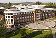 Vogelperspektive auf den Campus der Oregon State University