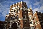 Nahansicht historisches Gebäude