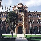 Historisches Gebäude der Universitat Autónoma de Barcelona