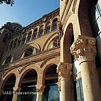 Säulenausschnitt der Universitat Autónoma de Barcelona