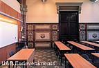 Ein antiker Hörsaal der Universitat Autónoma de Barcelona