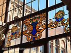 bemalter Dachfensterbereich der Universitat Autónoma de Barcelona