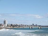Die Promenade von Port Elizabeth (Südafrika)