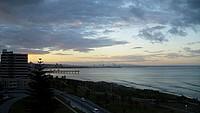 Port Elizabeth bei Sonnenuntergang