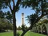 Blick auf den UC Riverside Bell Tower
