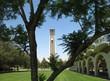Der Bell Tower auf dem Campus der UC Riverside