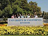 Eingangsschild der UC Riverside