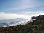 Blick auf die Küste in der Nähe des Campus der UC Santa Barbara