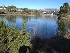 Die Lagune der UC Santa Barbara