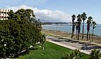 Blick vom Campus auf den Pazifischen Ozean
