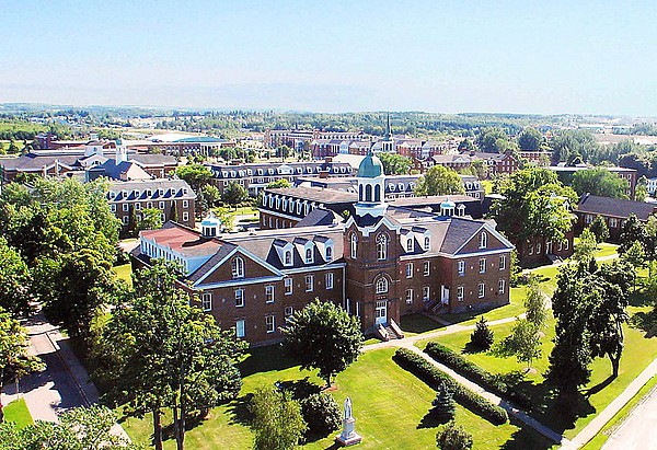 Blick auf den Campus der St. Francis Xavier University