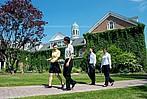 Studenten auf dem Campus der St. FX