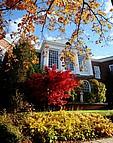 Herbstimpressionen des Campus