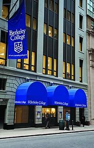 Hauptgebäude des Berkeley College in Manhattan