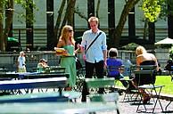 Studenten auf dem Campus des Berkeley College