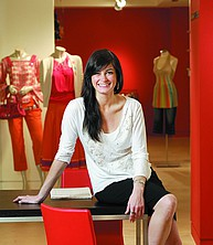 Fashion Management Studentin am Berkeley College