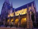 Kathedrale in Dublin bei Nacht