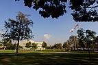 Der University Hall Lawn an der CSU San Bernardino