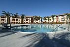 Der University Village Pool an der CSUSB