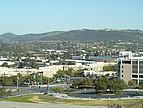Blick auf die Umgebung der California State University, San Marcos