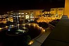 Der Campus der California State University, San Marcos bei Nacht