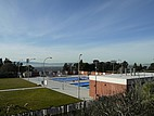 Der Pool auf dem Campus der CSU East Bay