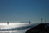 Der Strand in der Nähe der CSU Channel Islands