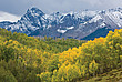 Blick auf die Colorado Rockies