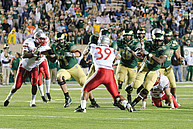 Ein Footballspiel der Colorado State University