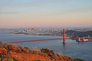Golden Gate Bridge bei Tag