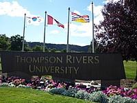 Auslandssemester Thompson Rivers University Campus