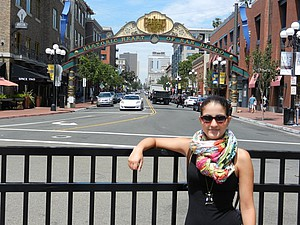 Gaslamp Quarter in San Diego