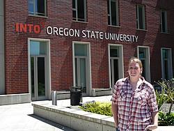 Studentin aus Österreich Studium USA Oregon
