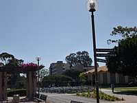 Fahrräder auf dem Campus der UCSB