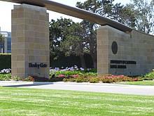 Eingangstor der UC Santa Barbara