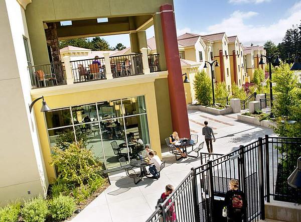 Der Campus der Humboldt State University